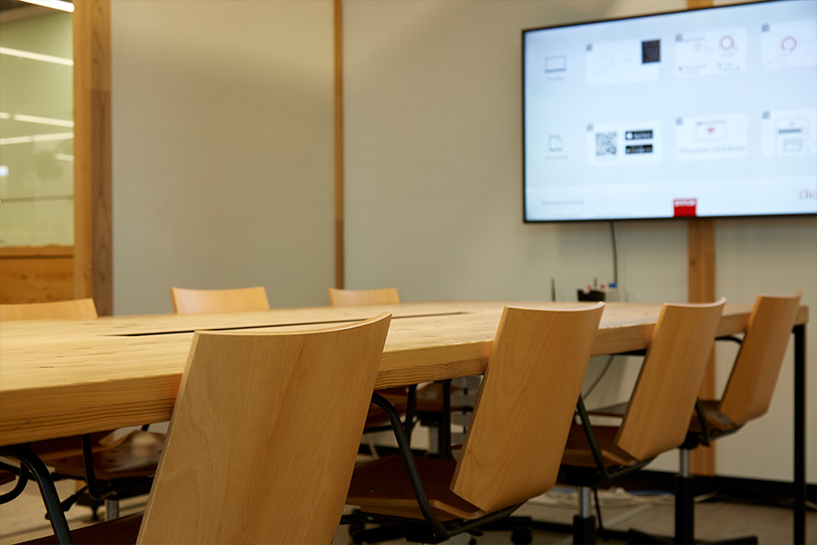 木質化オフィス例2