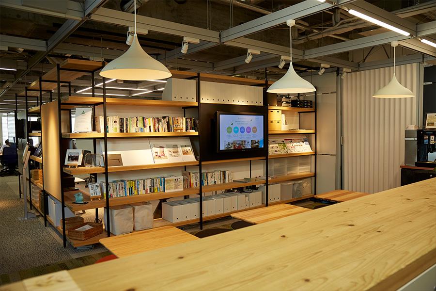 木質化オフィス例3