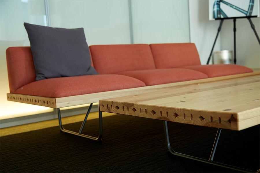 木質化オフィス例4