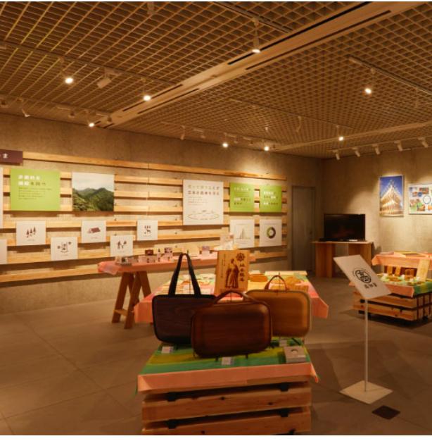 木質化展示の常設スペース画像